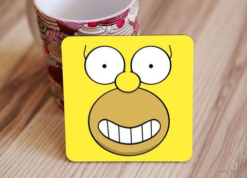 "Подставка под кружку ""Симпсоны"" (art.6)"