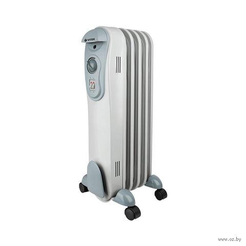 Масляный радиатор Vitek VT-2120 GY — фото, картинка