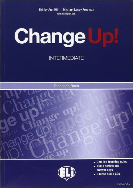 Change Up! Intermediate Teacher's Book (+ CD) — фото, картинка