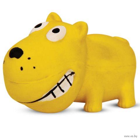 """Игрушка для собак с пищалкой """"Собака"""" (8,5 см) — фото, картинка"""