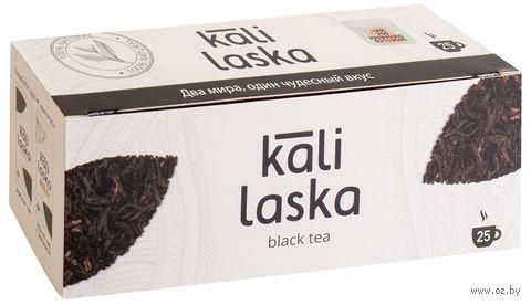 """Чай черный """"Kali Laska"""" (25 пакетиков) — фото, картинка"""