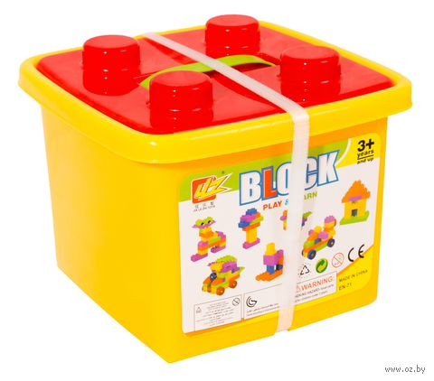"Конструктор ""Block"" (100 деталей; арт. DV-T-900) — фото, картинка"