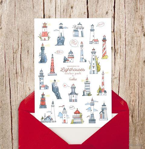 """Набор наклеек """"Lighthouses"""" — фото, картинка"""