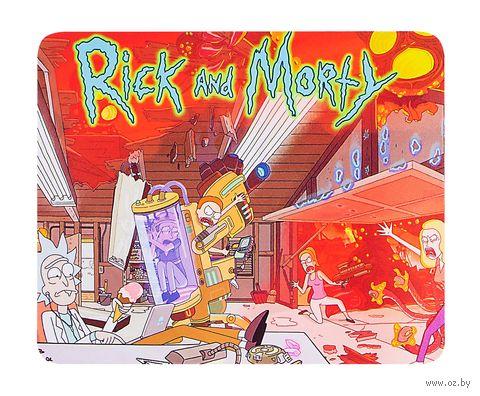 """Коврик для мыши большой """"Рик и морти"""" — фото, картинка"""