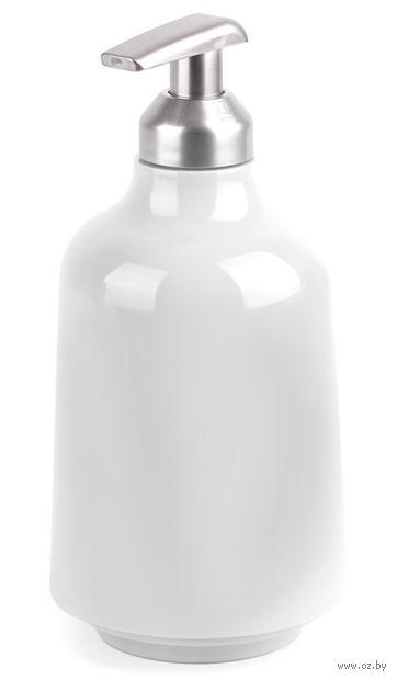 """Дозатор для жидкого мыла """"Step"""" (белый) — фото, картинка"""