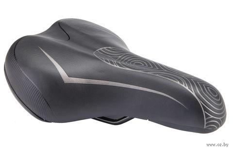 """Седло для велосипеда """"AZ-5541 G-01"""" (чёрное) — фото, картинка"""