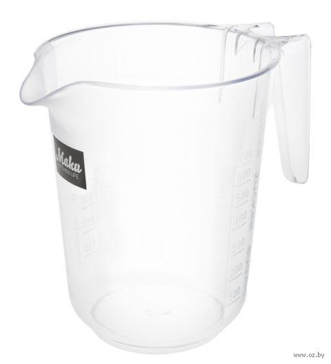 Стакам мерный пластмассовый (1 л) — фото, картинка
