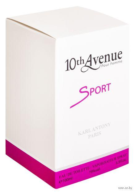 "Туалетная вода для женщин ""10th Avenue. Sport"" (100 мл) — фото, картинка"