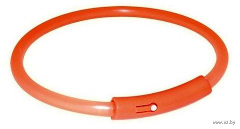 Ошейник для собак с LED-подсветкой (размер L; 50 см)