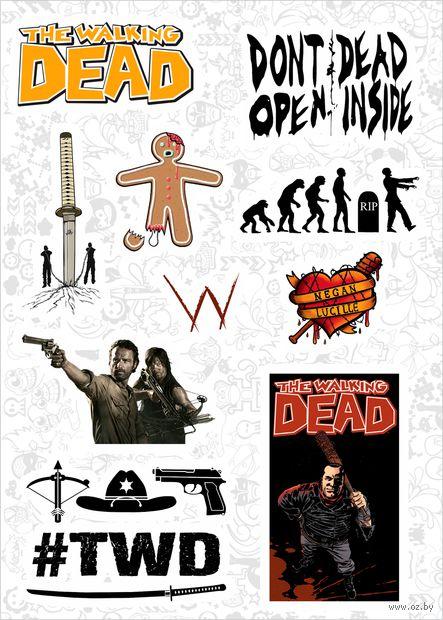 "Набор виниловых наклеек №597 ""The Walking Dead"" — фото, картинка"