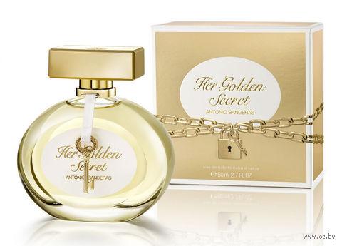 """Туалетная вода для женщин Antonio Banderas """"Her Golden Secret"""" (50 мл) — фото, картинка"""
