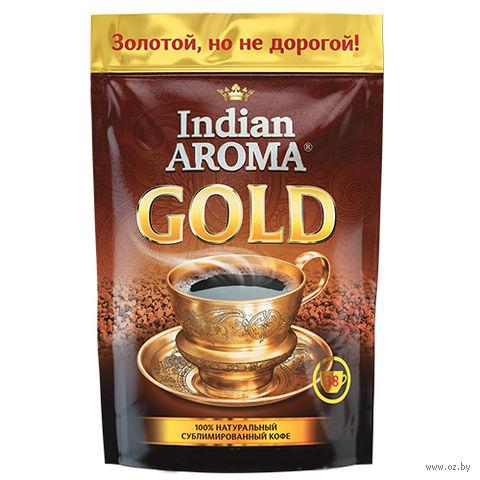 """Кофе растворимый """"Indian Aroma. Gold"""" (75 г) — фото, картинка"""