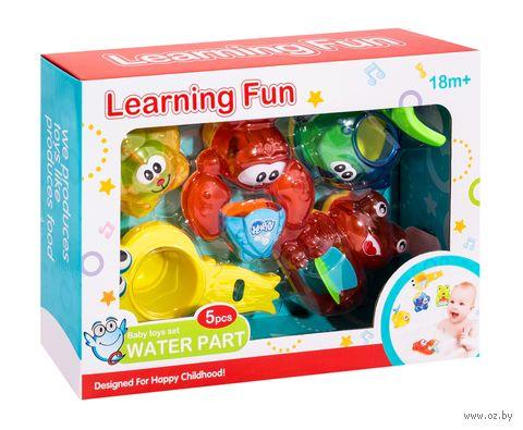 """Набор игрушек для купания """"Весёлые водопады"""" (4 шт.) — фото, картинка"""