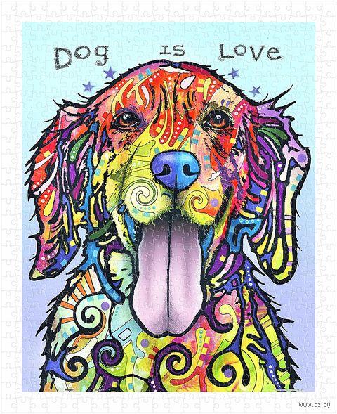 """Пазл """"Руссо. Собака есть любовь"""" (500 элементов) — фото, картинка"""