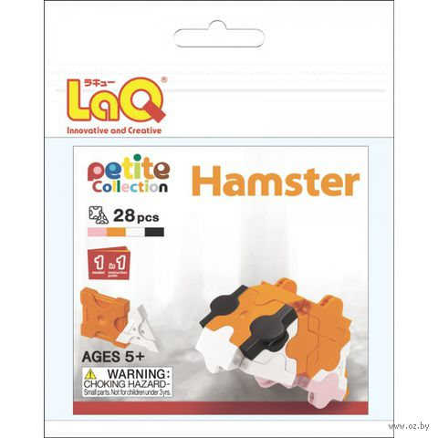 "Конструктор ""LaQ. Hamster"" (28 деталей)"