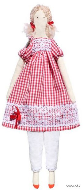 "Набор для шитья из ткани ""Кукла. Эмма"" — фото, картинка"
