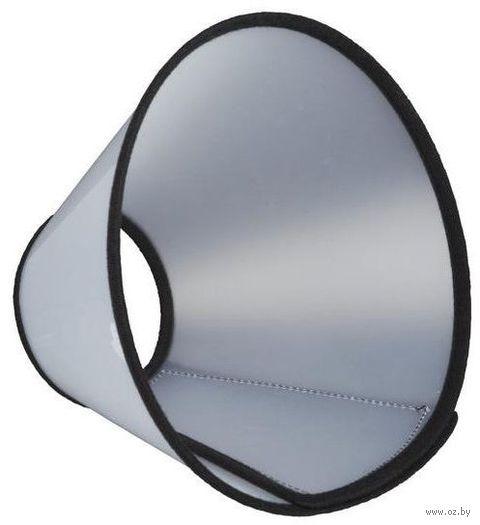 """Воротник защитный на липучке для собак """"Velcro"""" (размер M; 36-43 см/18 см)"""