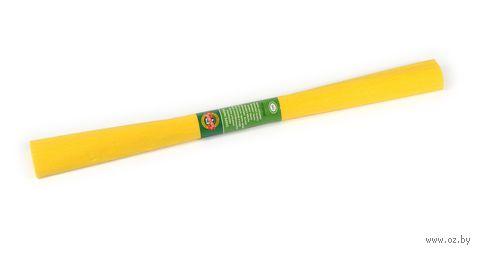 Бумага креповая (50х200 см; насыщенно-желтая)