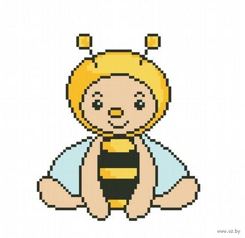 """Вышивка крестом """"Пчела"""""""