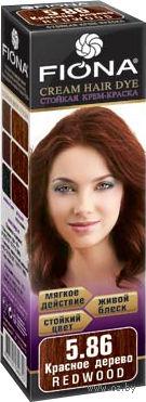 """Крем-краска для волос """"Fiona"""" (тон: 5.86, красное дерево)"""