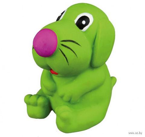 """Игрушка для собаки с пищалкой """"Собака"""" (8 см)"""