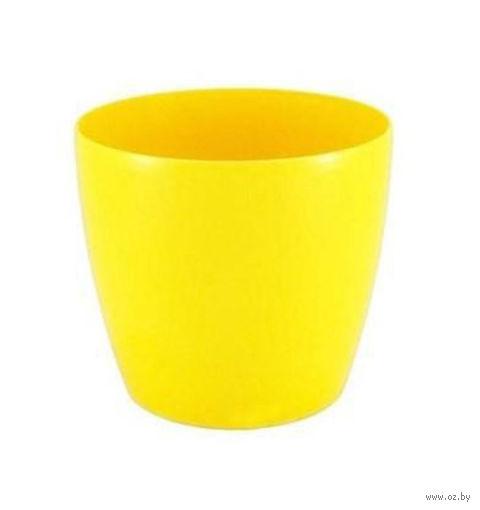 """Кашпо """"Magnolia"""" (10 см; желтое) — фото, картинка"""