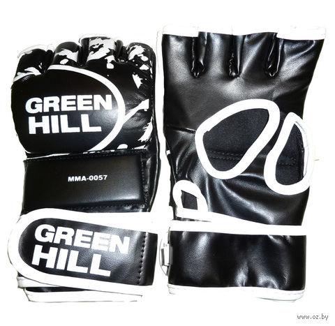 Перчатки MMA-0057 (XL; чёрные) — фото, картинка