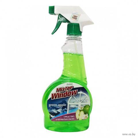 "Средство для чистки стекол ""Зеленое яблоко"" (500 мл) — фото, картинка"