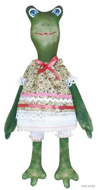"Набор для шитья из ткани ""Кукла. Жаклин"" — фото, картинка"