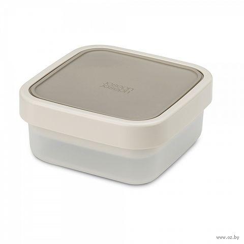 """Ланч-бокс для салатов компактный """"GoEat"""" (серый; арт. 81030)"""