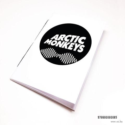 "Блокнот белый ""Arctic Monkeys"" А7 (065)"