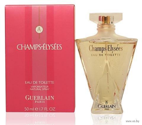 "Туалетная вода для женщин Guerlain ""Champs Elysees"" (50 мл) — фото, картинка"