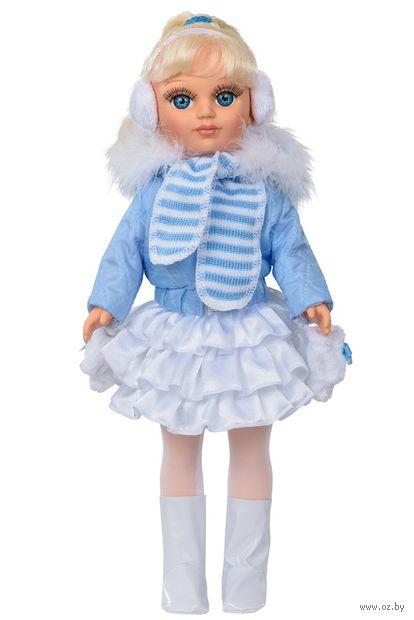 """Музыкальная кукла """"Анастасия. Зима"""" (арт. В1810/о) — фото, картинка"""