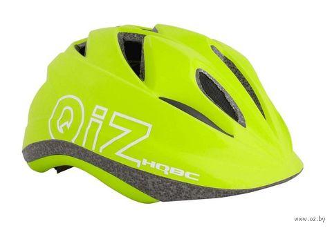 """Шлем велосипедный """"Qiz"""" (S; лаймовый; арт. Q090343S) — фото, картинка"""