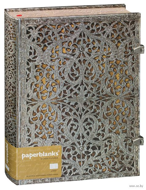 "Записная книжка Paperblanks ""Натураль"" в линейку (формат: 180*230 мм, ультра)"