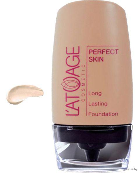 """Тональный крем для лица """"Perfect Skin"""" (тон: 101, фарфоровый; 30 г)"""