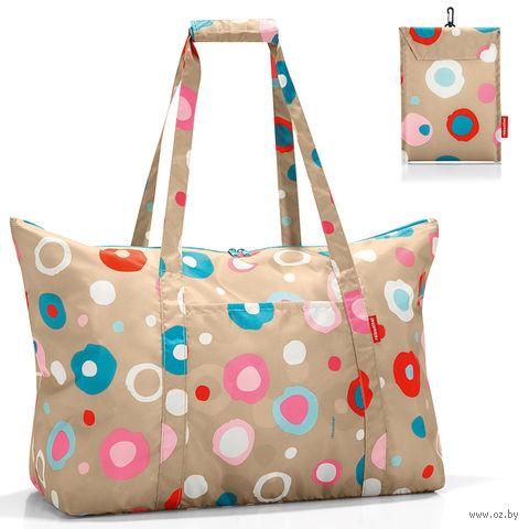 """Сумка складная """"Mini maxi travelbag"""" (funky dots 1)"""