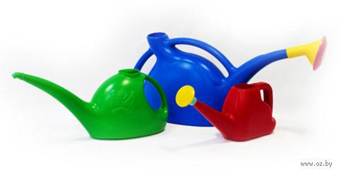 Лейка пластмассовая  без рассеивателя (3 л) — фото, картинка
