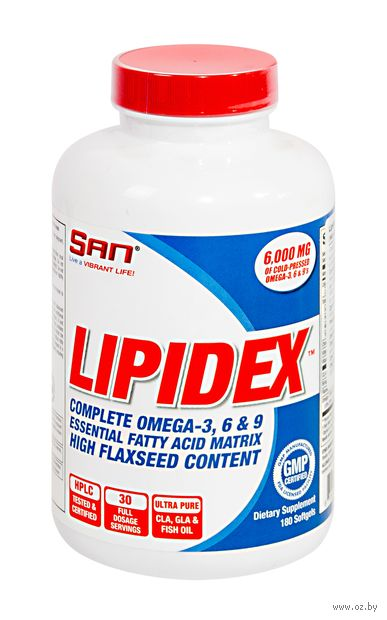 "Жиросжигатель ""Lipidex"" (180 капсул) — фото, картинка"