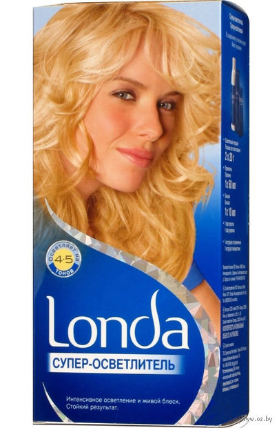 """Суперосветлитель для волос """"Londa Color"""" — фото, картинка"""