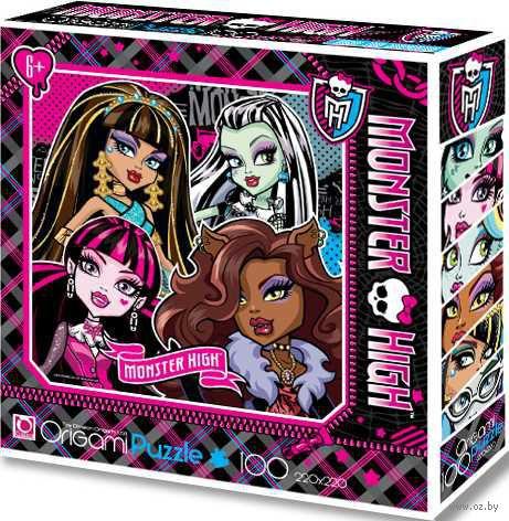 """Пазл """"Monster High 3"""" (100 элементов)"""