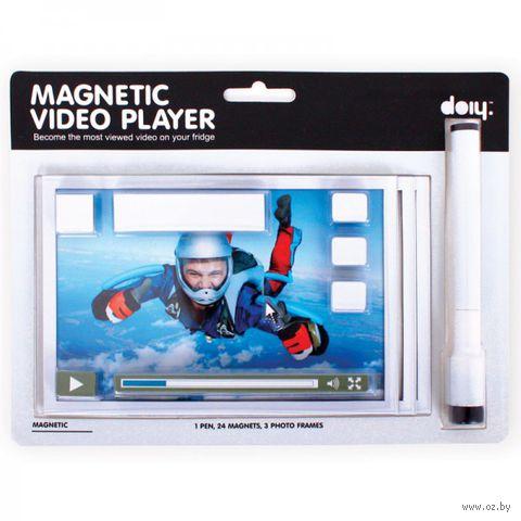 "Набор магнитов на холодильник ""Video Player"""
