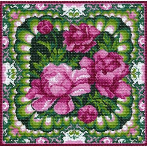"""Канва с нанесенным рисунком """"Розовый сон"""""""