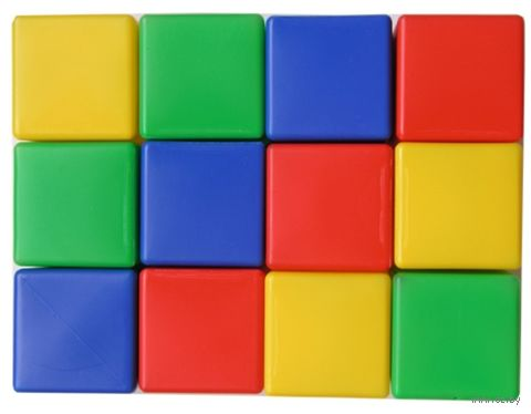 Кубики (12 шт.; арт. 00901) — фото, картинка