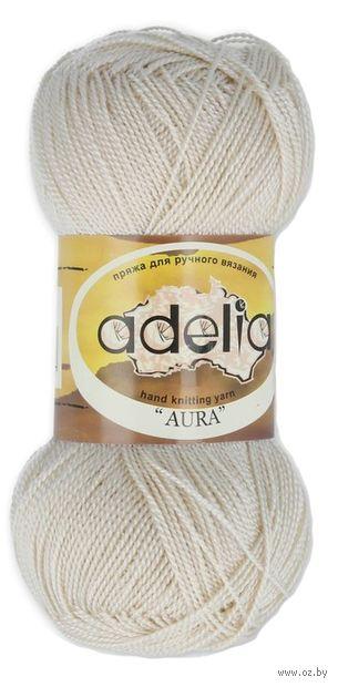 "Пряжа ""Adelia. Aura №18"" (50 г; 250 м; бежевый) — фото, картинка"