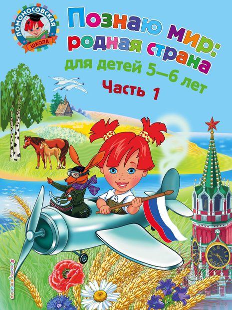 Познаю мир: родная страна. Для детей 5-6 лет. Часть 1 — фото, картинка