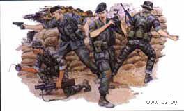 """Набор миниатюр """"Green Berets"""" (масштаб: 1/35) — фото, картинка"""