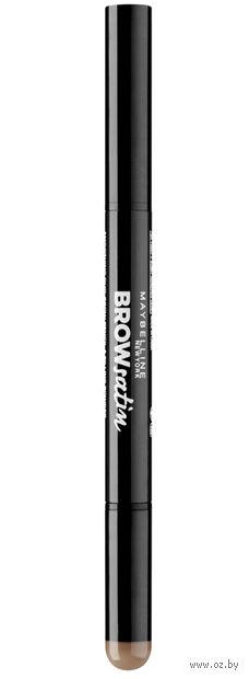 "Тени-карандаш для бровей ""Brow Satin"" (тон: 02, коричневый) — фото, картинка"