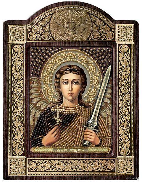 """Вышивка бисером """"Ангел Хранитель"""" (90х110 мм) — фото, картинка"""