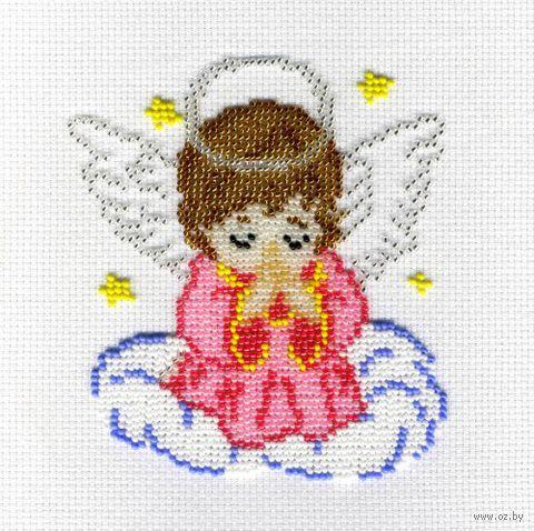 """Набор для вышивания """"Ангелочек в розовом"""""""